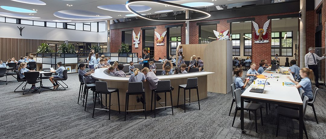 Open-plan classrooms are popular, but what about the noise?